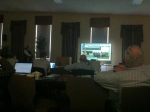 10 2013 Bob McFarland introducing the Dallas church plant